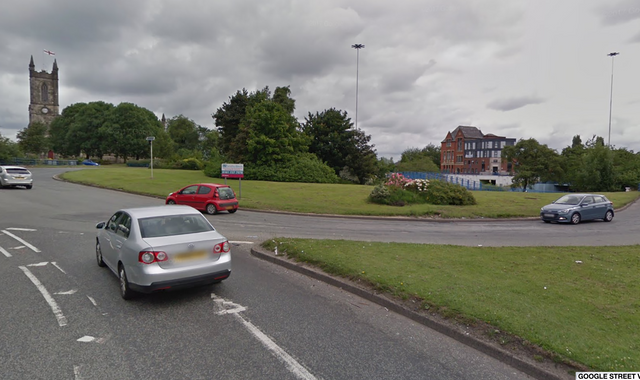 Salford: Man held after police officer seriously injured after car chase