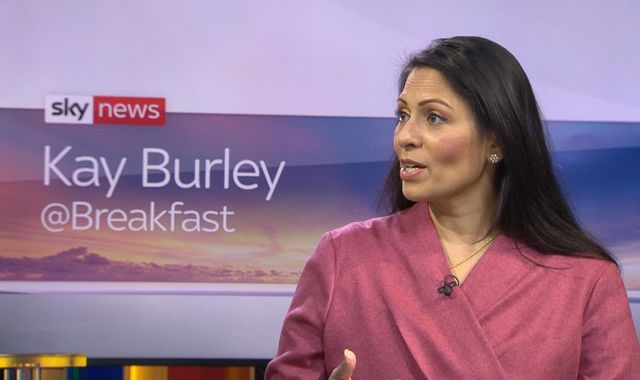 Priti Patel: Home secretary attacked over 'clueless' claim that 'inactive' Britons will fill job vacancies