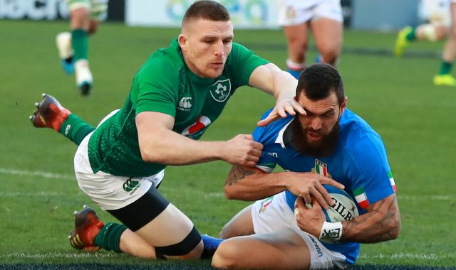 Coronavirus: Ireland-Italy Six Nations rugby matches postponed