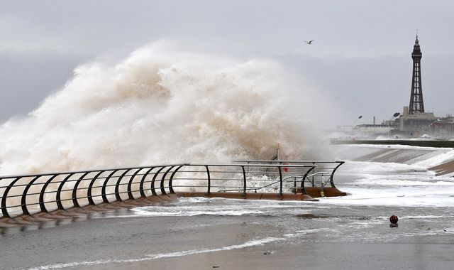 UK weather: Four more days of warnings in place as Storm Dennis approaches