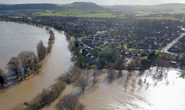Storm Dennis: Absent PM branded a 'disgrace' as government insists flood defences are working
