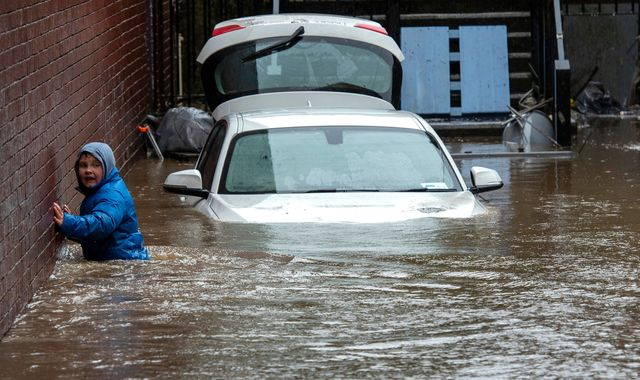 UK weather: Storm-hit areas warned flooding could last for days