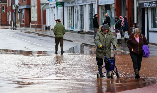 Storm Dennis-hit regions on alert as month worth of rainfall could fall in next 24 hours