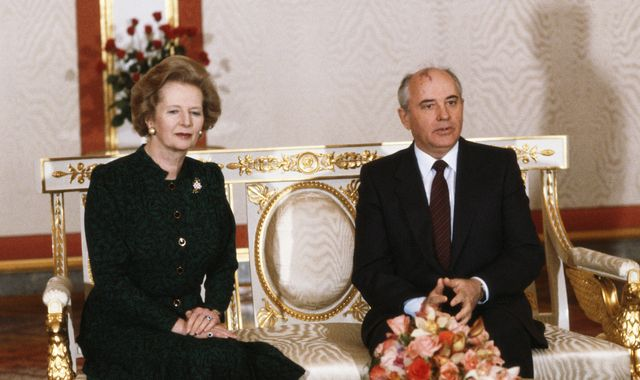 Margaret Thatcher named outfits after Gorbachev and Wogan