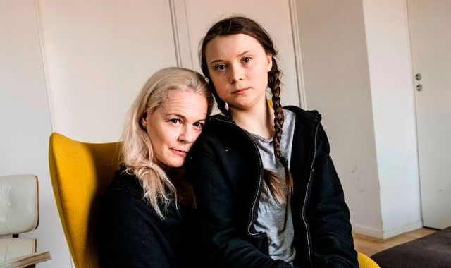 Greta Thunberg stopped talking and eating aged 11, her mother reveals