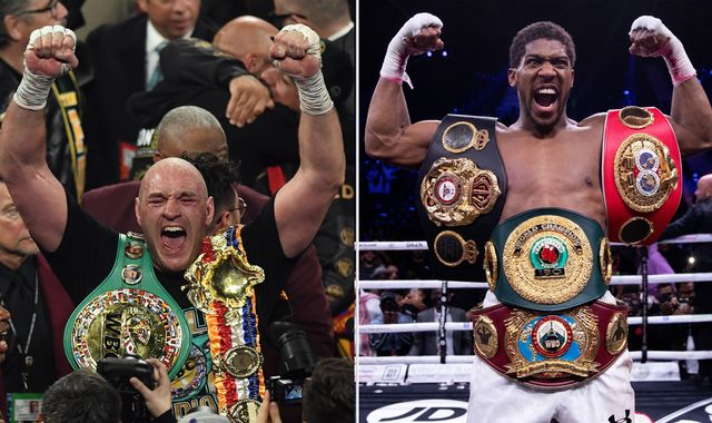 Tyson Fury v Anthony Joshua? 'We'd be clowns not to make fight happen' says boxing promoter Eddie Hearn