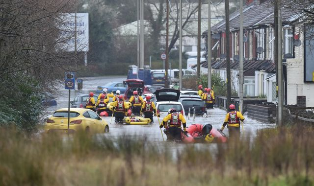 UK flooding: Welsh MP Chris Bryant makes impassioned plea for recovery cash