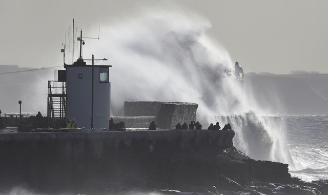 Storm Jorge hits UK as 'critical incident' declared in South Wales