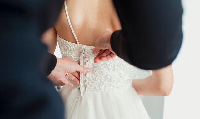 Coronavirus: Warning of wedding dress shortage in UK as China shuts factories