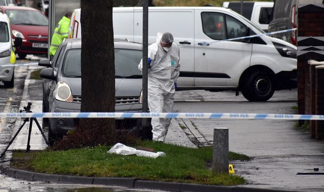 Two stabbed to death during robbery at suspected cannabis factory in Brierley Hill