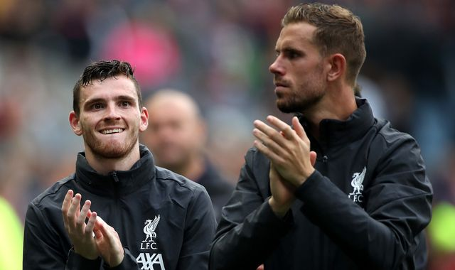 Andrew Robertson: Jordan Henderson is Premier League player of the year