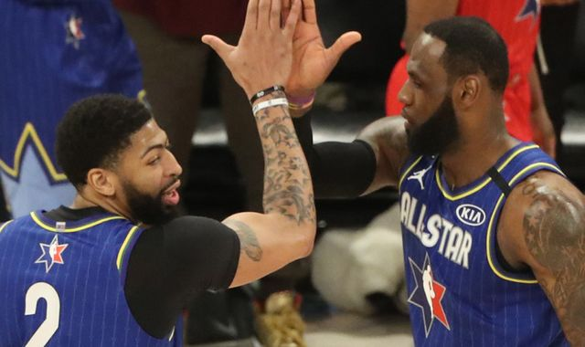 Anthony Davis wins All-Star Game for Team LeBron at free throw line