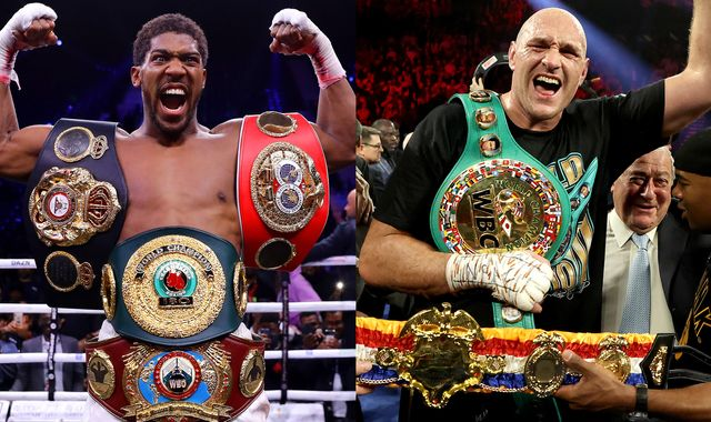 Anthony Joshua's plan for Tyson Fury fight this year disrupted by new Deontay Wilder rematch date
