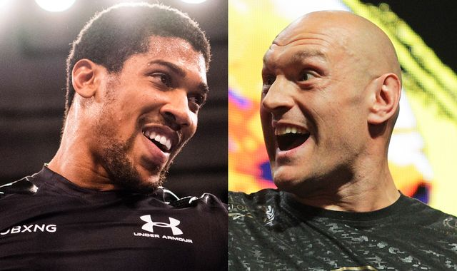 Anthony Joshua vs Tyson Fury 'has to happen', says Rob McCracken