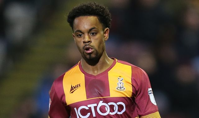 Tyrell Robinson sacked by Bradford after child sex offence charges