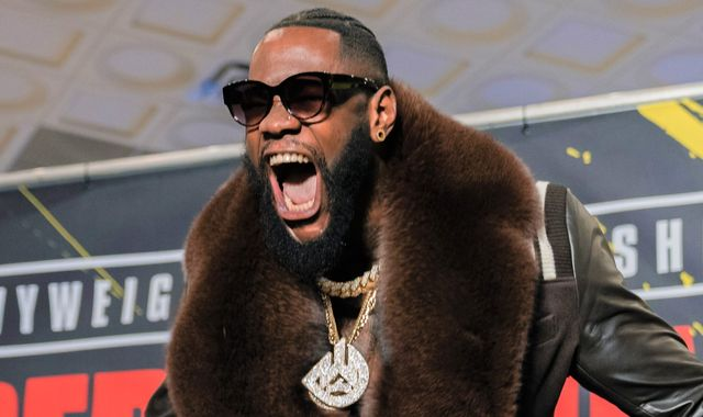 Deontay Wilder makes Tyson Fury jibe ahead of Las Vegas rematch