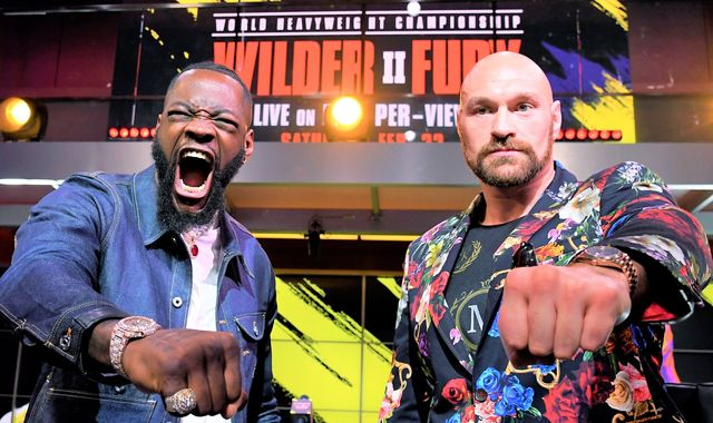Wilder vs Fury 2: Agreement in place for trilogy fight