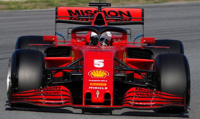 Ferrari reveal plans for 'significant' change of F1 2020 car direction