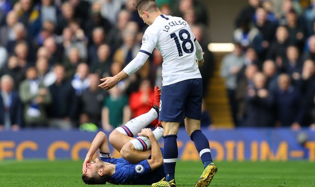 Frank Lampard says VAR excuse 'not good enough' after Giovani Lo Celso avoids red card