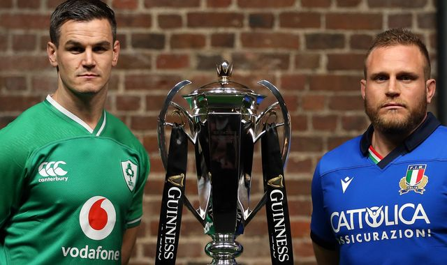 Coronavirus: Ireland vs Italy Six Nations game postponed due to outbreak