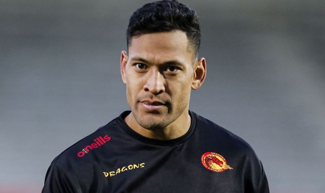Israel Folau named in Catalans Dragons squad to face Castleford