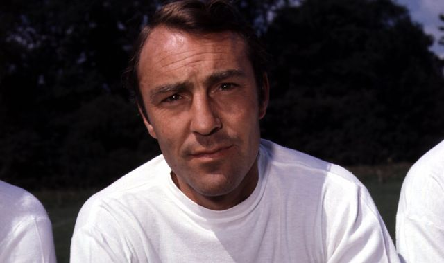 Jimmy Greaves admitted to hospital