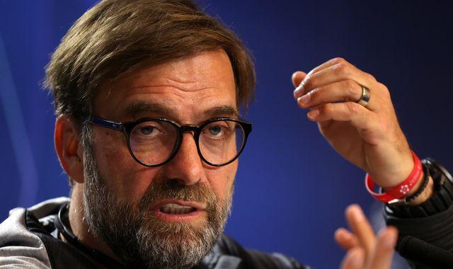 Jurgen Klopp: Premier League form means nothing in Champions League Atletico Madrid clash
