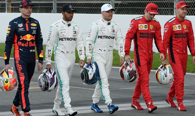 Formula 1 2020: Who's the biggest threat to Lewis Hamilton's crown?