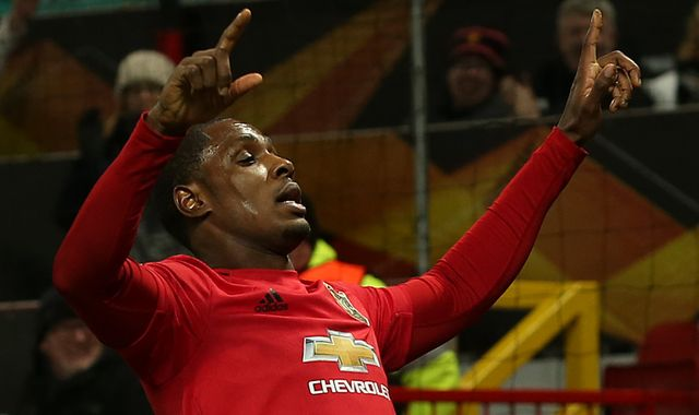 Odion Ighalo: Man Utd manager Ole Gunnar Solskjaer praises striker after first goal for club