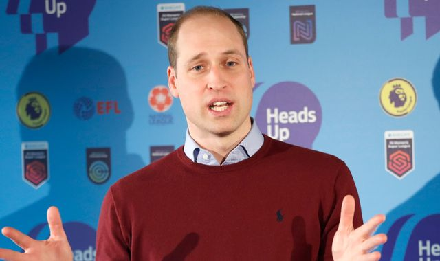 Heads Up campaign: The Duke of Cambridge talks Heads Up with John McGinn