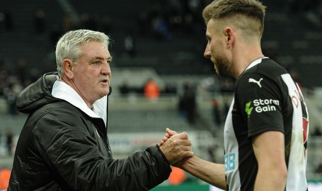 Newcastle have banned handshakes amid coronavirus fears, confirms Steve Bruce