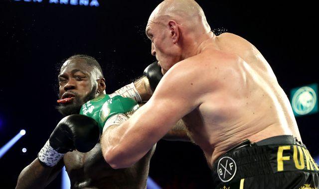 Wilder vs Fury 2: Tyson Fury brilliantly stops Deontay Wilder in seven-round masterclass in Las Vegas