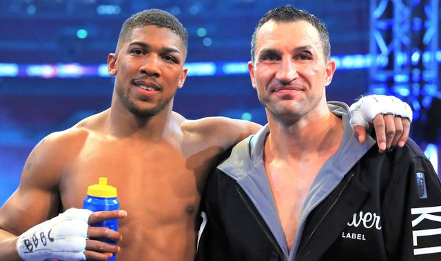 Wladimir Klitschko wants Anthony Joshua to become the world's no 1