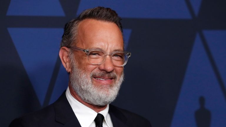 2019 Governors Awards - Arrivals - Los Angeles, California, U.S., October 27, 2019 - Tom Hanks. REUTERS/Mario Anzuoni