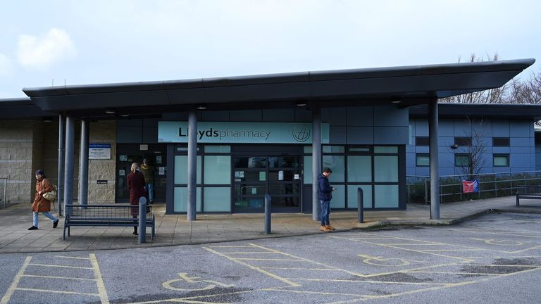 "The County Oak Medical Centre is pictured in Brighton, Southern England on February 10, 2020, after it had closed for ""urgent operational health and safety reason"", following reports a member of staff was infected with the 2019-nCoV strain of the novel coronavirus. - The British government on Monday warned the outbreak of novel coronavirus was a ""serious and imminent threat"" and reported four new cases that brought the total recorded in the country to eight. Two hospitals The Royal Free and Guys and St Thomas', have both been designated as ""isolation"" facilities, with both currently housing Britons who have returned from Wuhan, the Chinese city at the centre of the outbreak. (Photo by Glyn KIRK / AFP) (Photo by GLYN KIRK/AFP via Getty Images)"