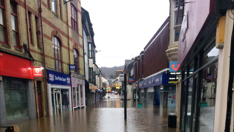 Pontypridd, Wales 9am 16.2.2020 Credit: Julian Jones