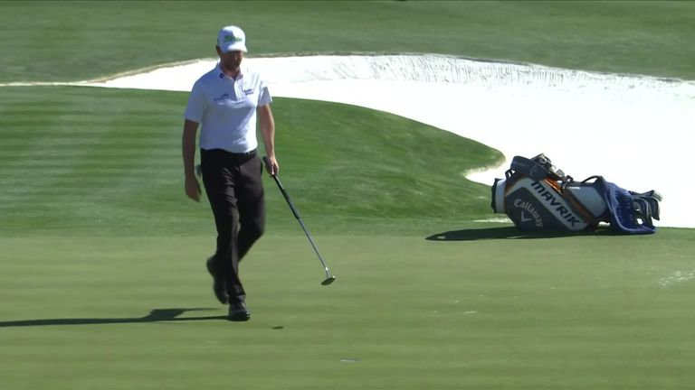 A look back at the best of the action from the third round of the Waste Management Phoenix Open at TPC Scottsdale