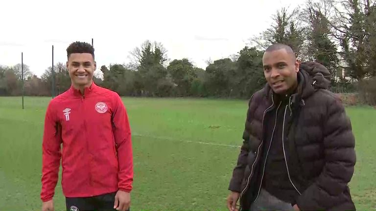 2:55                                               Ollie Watkins and Clinton Morrison who were former team-mates at Exeter reunite to talk about the former's