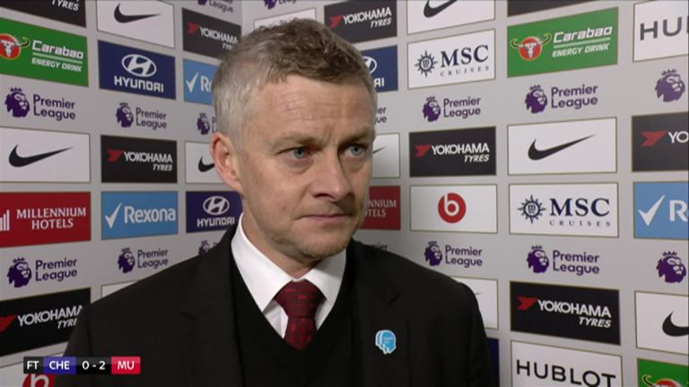 Ole Gunnar Solskjaer reflects on a positive night for Manchester United after their 2-0 win over Chelsea and also gives his thoughts on Mino Raiola's comments, who is the agent of Paul Pogba