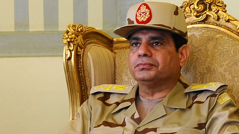 Egypt president Abdul Fattah el Sisi