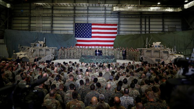 The peace deal will see the return of US forces from Afghanistan