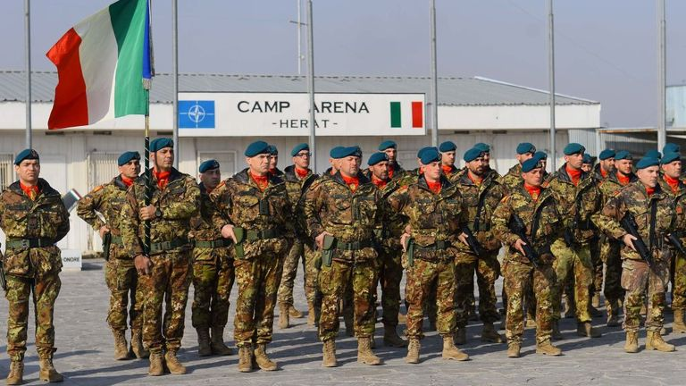 NATO forces are still in the country, offering support and advice to the Afghan military and police