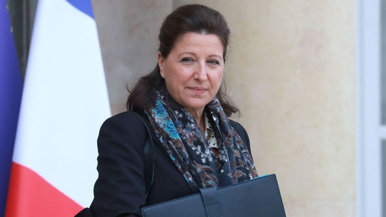 Agnes Buzyn has said five British nationals have been infected with coronavirus in France