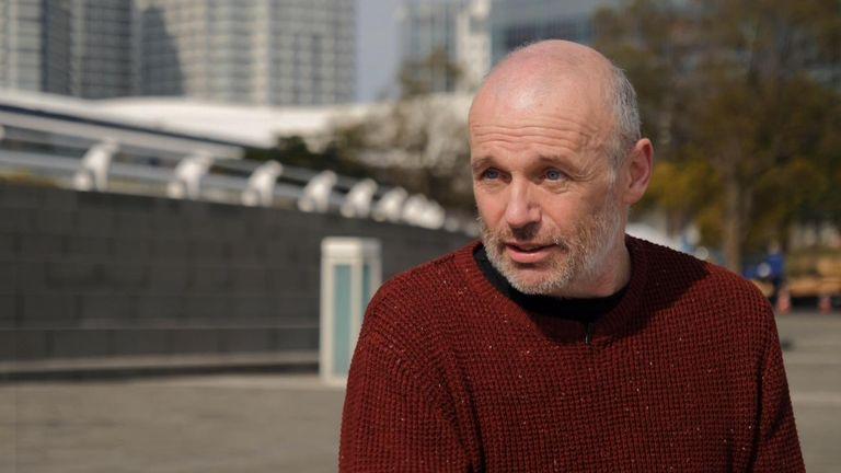Alan Steel, coronavirus survivor, still