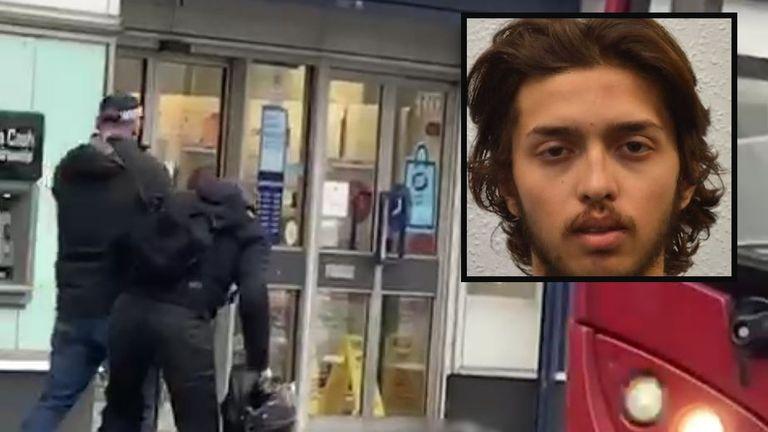 The man accused of the Streatham terror attack, Sudesh Amman.