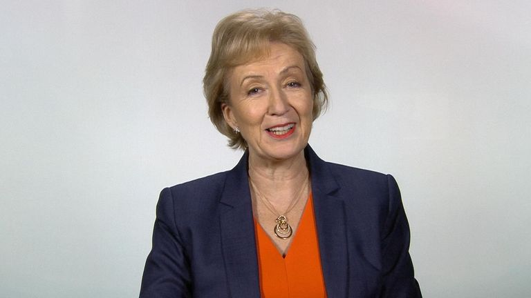 Andrea Leadsom brushes away criticism by John Bercow