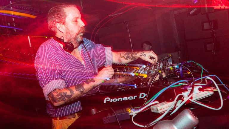Andrew Weatherall in 2016