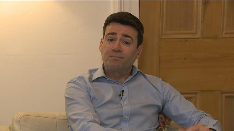 Andy Burnham on SROS