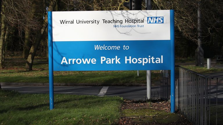 The Britons were quarantined at Arrowe Park Hospital for two weeks