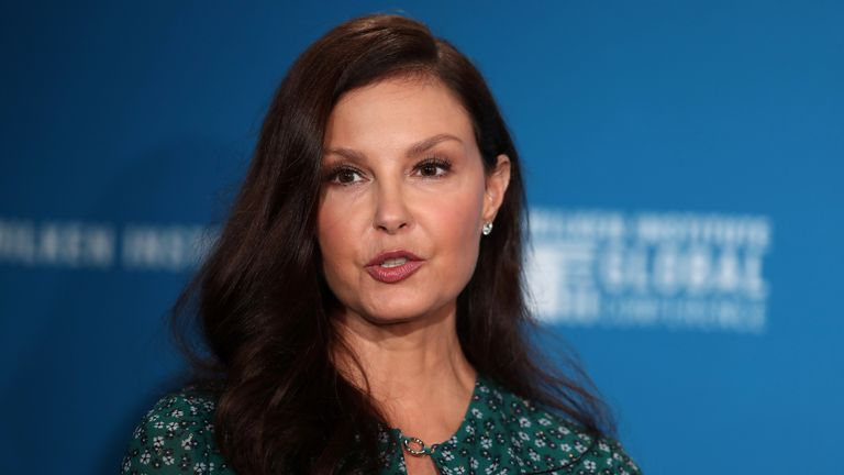Actress Ashley Judd speaks at the Milken Institute's 21st Global Conference in Beverly Hills, California, U.S. April 30, 2018. REUTERS/Lucy Nicholson